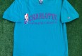 vintage 90's charlotte hornets champion nba practice shirt size large fits like medium