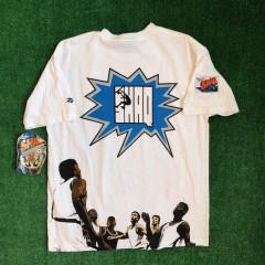 vintage 90's shaq comic book series reebok t shirt size Large