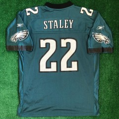 vintage 2003 Duce Staley Philadelphia Eagles Reebok nfl jersey size XL