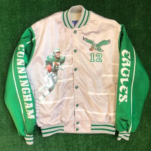 1990 Randall Cunningham Starline Fanimation Jacket Size Large