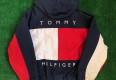 vintage 90's tommy hilfiger reversible jacket size XL big flag