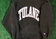 90's Tulane Green Wave NCAA Champion Reverse Weave Crewneck Sweatshirt