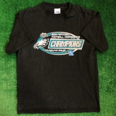 vintage 2004 NFC Conference champions Philadelphia Eagles CSA t shirt size XL