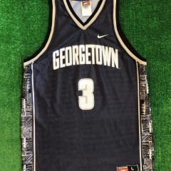 1996 Allen Iverson Georgetown Hoyas Nike NCAA Jersey Size Large