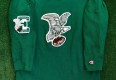 vintage philadelphia eagles throwbacks vintage collection by Champion nfl football jersey crewneck size large kelly green
