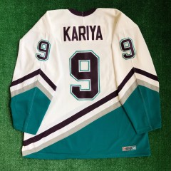 90's Paul Kariya Anaheim Mighty Ducks CCM NHL Jersey Size XL