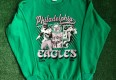 1990 Philadelphia Eagles Reggie White Mike Quick Salem NFL Crewneck Sweatshirt Size Large