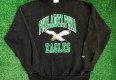 vintage early 90s philadelphia eagles nfl crewneck sweatshirt