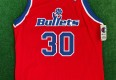 vintage 90's Rasheed Wallace Washington Bullets Champion NBA Jersey Size 44 authentic