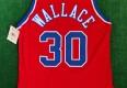 vintage 90's Rasheed Wallace Washington Bullets Champion NBA Jersey Size 44 authentic