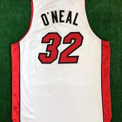 2006 Shaq Miami Heat Authentic Reebok NBA Finals Jersey size 48