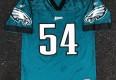2000 Jeremiah Trotter Philadelphia eagles reebok nfl jersey size large