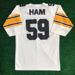 80's Jack Ham Pittsburgh Steelers NFL football jersey size medium