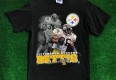 vintage 90's jerome bettis pittsburgh steelers nfl t shirt size medium