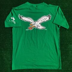 vintage 1992 Philadelphia eagles salem sportswear kelly green deadstock nfl shirt size large