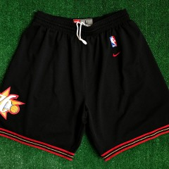 2001 Philadelphia 76ers Sixers Nike Swingman NBA Shorts Size Large