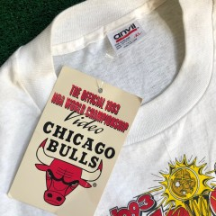1993 chicago bulls nba champions shirt