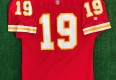 90's Joe Montana kansas city chiefs authentic pro line wilson nfl jersey size 46 large