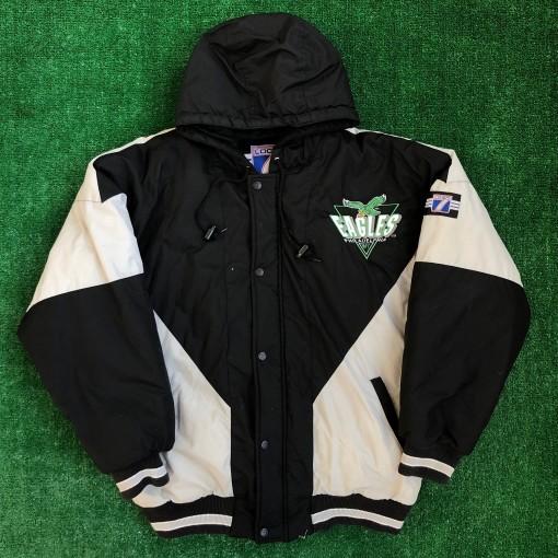 vintage 90's Philadelphia Eagles Logo 7 NFL jacket size Large