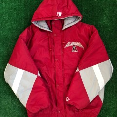 vintage 90s alabama crimson tide starter heavyweight jacket size XL