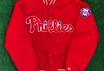 90's Philadelphia Phillies Starter Satin MLB Jacket Size XL