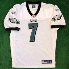 2010 Michael Vick Philadelphia eagles authentic reebok nfl jerseys size 48 white home