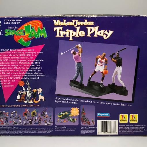 1996 Michael Jordan Triple Play Space Jam Toy Action Figures