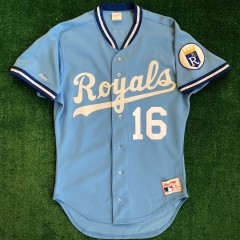 1988 bo jackson kansas city royals authentic rawlings mlb jersey size 40 medium