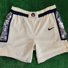 vintage 90's georgetown hoyas authentic nike ncaa shorts size 36 Large allen iverson