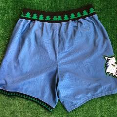 vintage 90's Minnesota timberwolves starter authentic nba shorts size XL