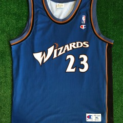 2001 michael jordan washington wizards champion nba jersey size XL european cut