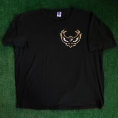 vintage 90's baltimore ravens russell nfl t shirt single stitch size XL XXL