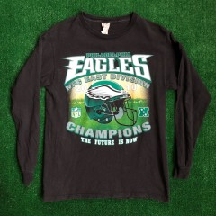 vintage 2010 Philadelphia eagles vickadelphia divison champions t shirt size medium