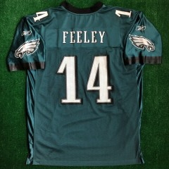 00's AJ Feely philadelphia eagles reebok nfl jersey size XL