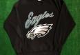 90's philadelphia eagles 1996 nfl crewneck sweatshirt size XL