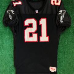 vintage 90's Deion Sanders Atlanta Falcons authentic wilson nfl jersey size 46 large