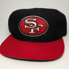 vintage 49ers starter hat