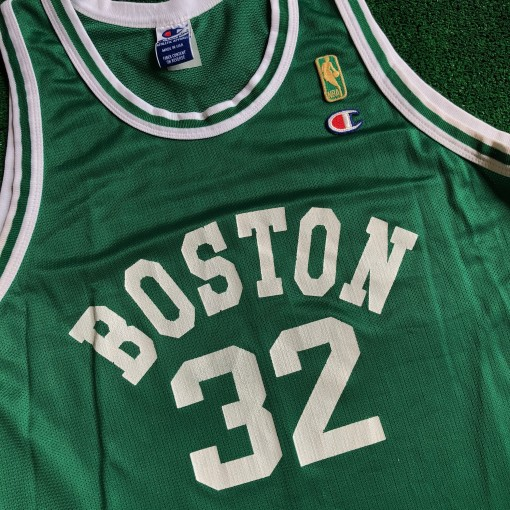 1996 Kevin McHale Boston Celtics Champion Gold Logo NBA Jersey Size 44