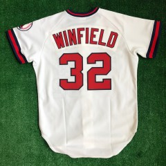 vintage 1990 dave wilfield california angels authentic rawlings mlb jersey size 42