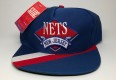 90's New Jersey Nets Side Liner NBA Snapback Hat