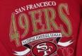 1993 San Francisco 49ers Logo 7 NFL Crewneck Sweatshirt Size L/XL