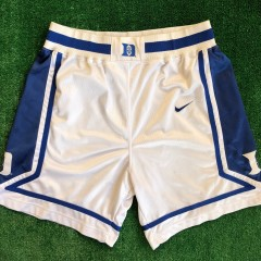 vintage 90s duke blue devils authentic nike ncaa shorts size large