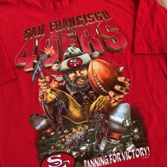 vintage 90s 49ers shirt