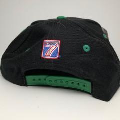 vintage 90s philadelphia eagles logo 7 nfl snapback hat deadstock