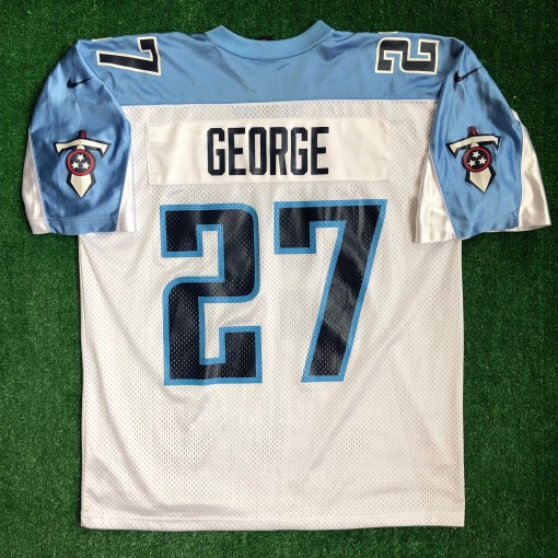 2001 Eddie George Tennessee Titans Nike NFL Jersey Size XL