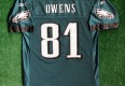 2004 Terrell Owens Philadelphia Eagles Super Bowl XXXIX Reebok NFL Jersey Size Medium