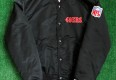 90's San Francisco 49ers Starter Black Satin NFL Jacket Size Medium