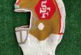 90's San Francisco 49ers NFL Helmet Knit Hat Beanie