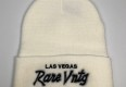 "Rare Vntg ""Las Vegas"" City Series Cuffed Knit Beanie Hat"