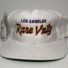 "Rare Vntg ""Los Angeles"" City Series Vintage The Game Snapback Hat"